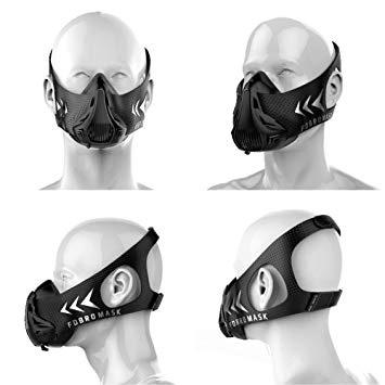 Masque d'entraînement – Altitude -FDBRO – Black Edition