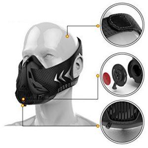 Masque d'entraînement - Altitude -FDBRO - Black Edition
