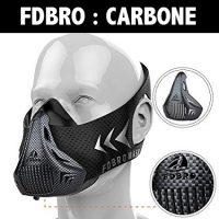 Masque d'entraînement - Altitude -FDBRO - Carbone