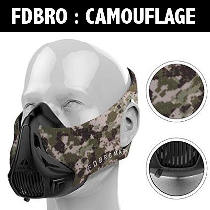 Masque d'entraînement – Altitude -FDBRO – Camouflage