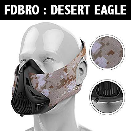 Masque d'entraînement – Altitude -FDBRO – Desert Eagle