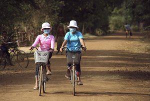 masque vélo anti-pollution