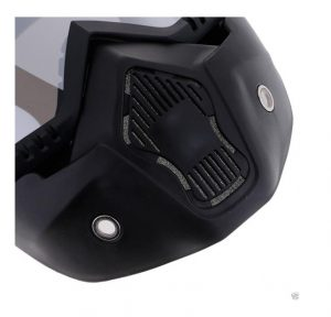 masque anti-pollution vtt enduro moto