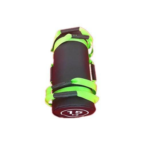 sandbag sac lesté 15kg vert