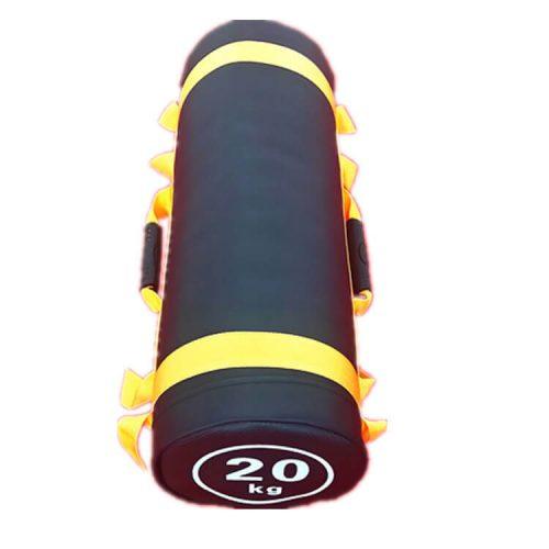 sandbag sac lesté 20 kg jaune