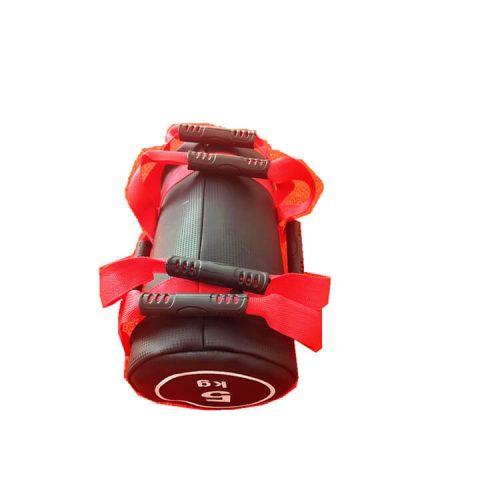 sandbag, sac lesté 5kg rouge